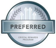 Preferred Crystal Rewards Program Logo