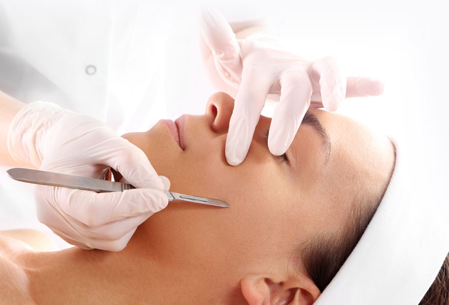 Dermaplaning Procedure